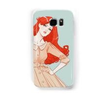 Kate Kane Blue Samsung Galaxy Case/Skin