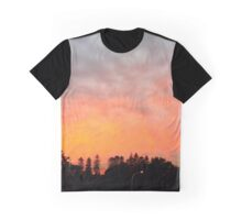 Fire in the Sky (panoramic) Graphic T-Shirt