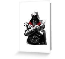 assassin's creed Greeting Card