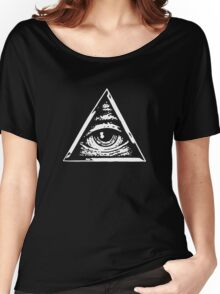The Eye of God Illuminate Women's Relaxed Fit T-Shirt