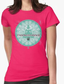 transcendence - Hero Womens Fitted T-Shirt