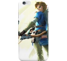 The Legend of Zelda: Breath of the Wild Art 1 iPhone Case/Skin