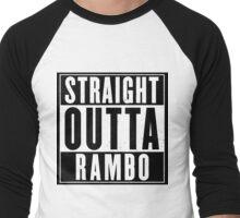 Straight Outta Rambo Men's Baseball ¾ T-Shirt