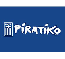 Greece Piratiko v1 Photographic Print