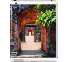 Walking through history iPad Case/Skin