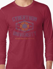 Cybertron University Long Sleeve T-Shirt