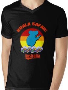 Koala Safari Mens V-Neck T-Shirt