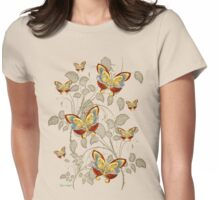 Dreams of Butterflies Womens Fitted T-Shirt