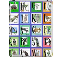 ABC World of Creatures Poster iPad Case/Skin