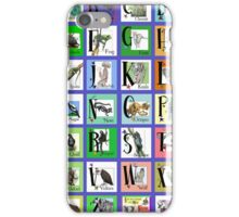 ABC World of Creatures Poster iPhone Case/Skin
