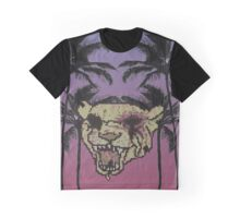 Tiger With Them Palms Graphic T-Shirt