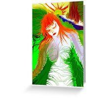 *Earth Girl* Greeting Card