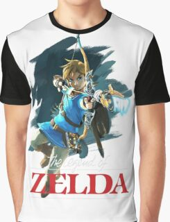 The Legend of Zelda: Breath of the Wild Artwork 3 Graphic T-Shirt