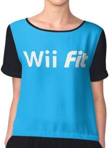 Wii fit Chiffon Top