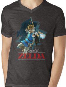 The Legend of Zelda: Breath of the Wild Artwork 3 Mens V-Neck T-Shirt