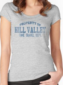 Hill Valley HS Women's Fitted Scoop T-Shirt