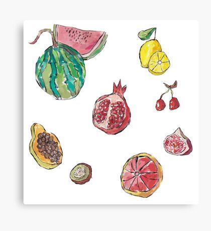 fruit party! Canvas Print