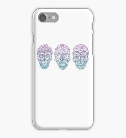 Candy Skulls iPhone Case/Skin