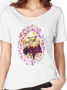 Grunge Eagle Sketch 2 Women's Relaxed Fit T-Shirt