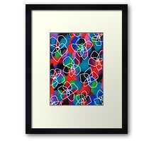 Enjoy Every Color Within You Framed Print