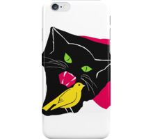 The Cat and the Canary iPhone Case/Skin