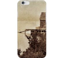 The dock iPhone Case/Skin