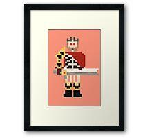 Ostarion the Skeleton King Framed Print