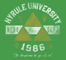 Hyrule University by Arinesart