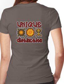 Unique Safari  Womens Fitted T-Shirt