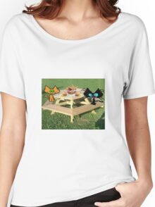 Cats Ready For A PicNic Women's Relaxed Fit T-Shirt