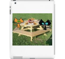 Cats Ready For A PicNic iPad Case/Skin