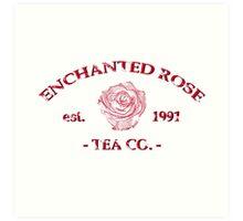 Enchanted Rose  Art Print