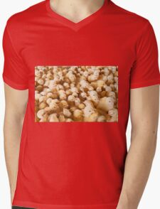 Large Group Of Baby Chicks On Chicken Farm Mens V-Neck T-Shirt