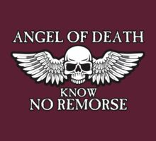 Angel of Death Know No Remorse by simonbreeze