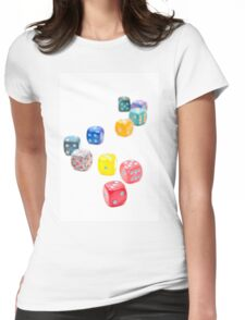 Dices Womens Fitted T-Shirt