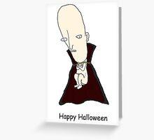 Baby Vampire Halloween Card Greeting Card