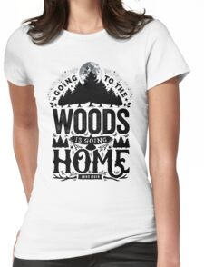 The Woods Womens Fitted T-Shirt