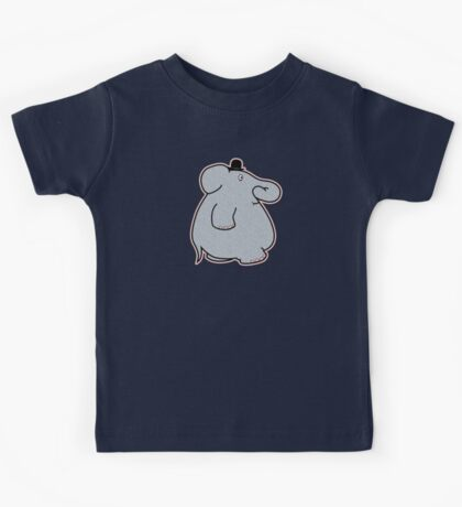 Elephant on the move Kids Tee