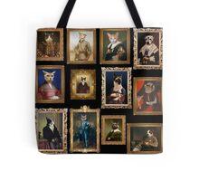 Pet Portrait Gallery Tote Bag