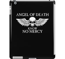 Angel of Death Know No Mercy iPad Case/Skin