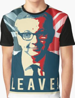 Michael Gove Leave Graphic T-Shirt