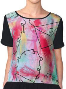 Grab Your Bag and Fly and See the World by Lenna Chiffon Top