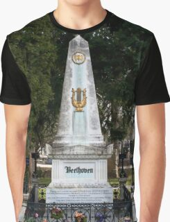 Grave Of Ludwig Van Beethoven Graphic T-Shirt