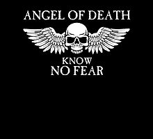 Angel of Death Know No Fear by simonbreeze