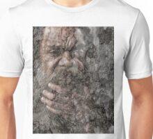 Aboriginal on paperbark  Unisex T-Shirt