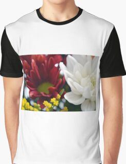 Watercolor style natural background with beautiful colorful flower petals. Graphic T-Shirt
