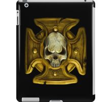 Cross and Skull Honour Badge iPad Case/Skin