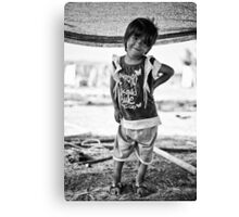 street children Canvas Print