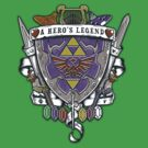 A Hero's Legend Crest by Arinesart