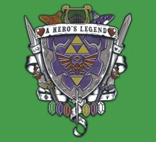 A Hero's Legend Crest by Arinesart